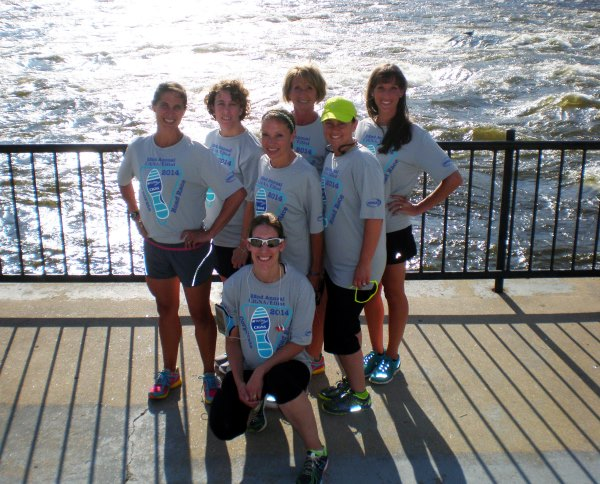 DTS Staff participating in the Cigna Corporate 5k